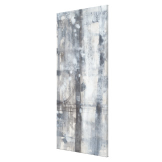 Contemporary Grey Painting Canvas Print
