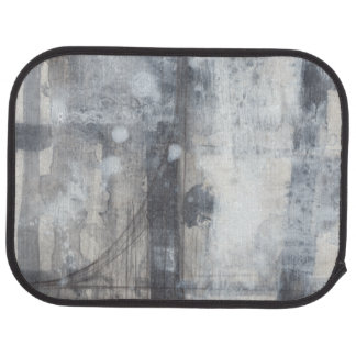 Contemporary Grey Painting Car Mat