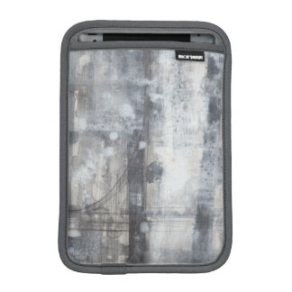 Contemporary Grey Painting iPad Mini Sleeve