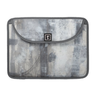 Contemporary Grey Painting Sleeve For MacBooks