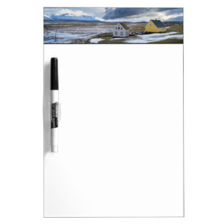Contemporary Houses Dry Erase Board
