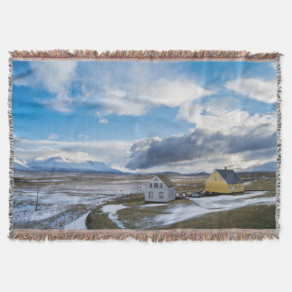 Contemporary Houses Throw Blanket