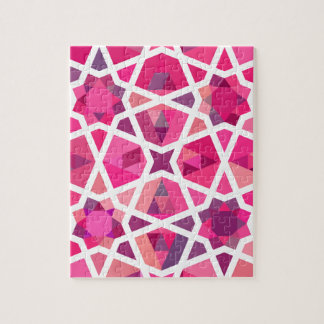 Contemporary Islamic Pattern Jigsaw Puzzle