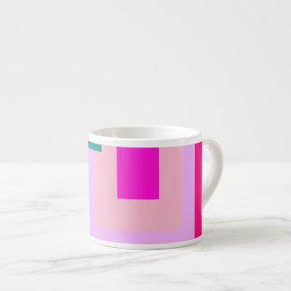 Contemporary Lavender Magenta Espresso Mug