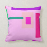 Contemporary Lavender Pink Pillow