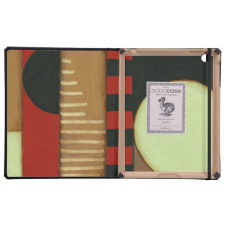 Contemporary Loft Style Paneled Painting iPad Covers
