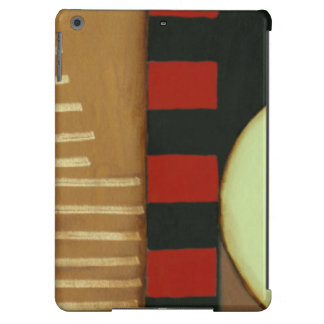 Contemporary Loft Style Paneled Painting iPad Air Covers