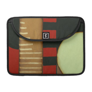 Contemporary Loft Style Paneled Painting Sleeve For MacBook Pro