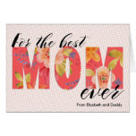 Contemporary Mother's Day Greeting Card