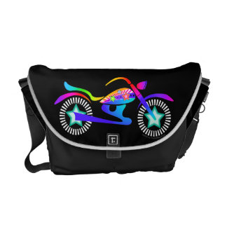 Contemporary MOTORCYCLE MESSENGER BAG