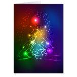 Contemporary Neon Christmas Tree