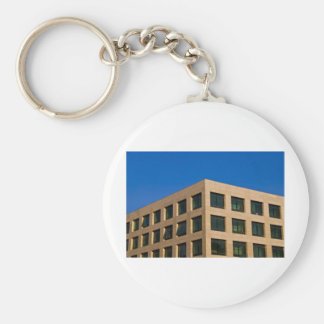 contemporary office building key chain