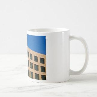 contemporary office building coffee mug
