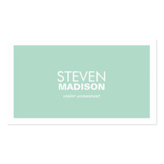 Contemporary Pack Of Standard Business Cards