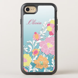 Contemporary Sculpted Floral OtterBox Symmetry iPhone 7 Case