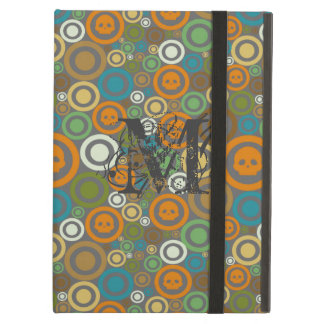 Contemporary Skulls Monogrammed iPad Air Covers