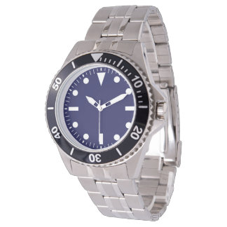 contemporary stainless steel bracelet watch