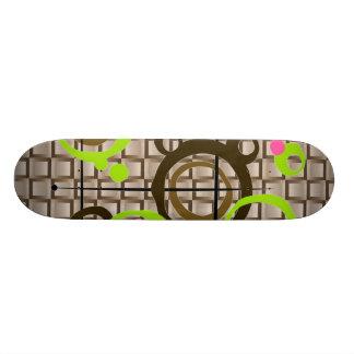 Contemporary Tread Skate Board