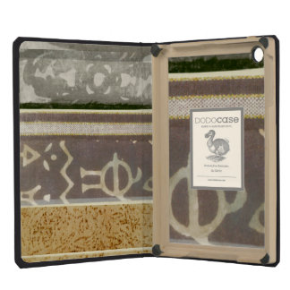 Contemporary Tribal Pattern Painting iPad Mini Cases