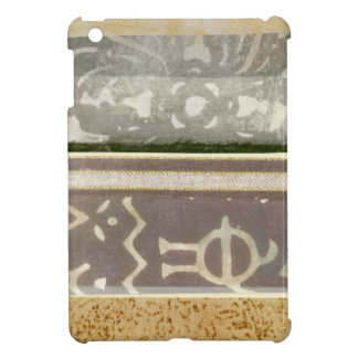 Contemporary Tribal Pattern Painting Cover For The iPad Mini
