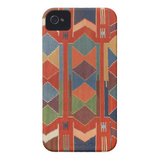 Contemporary Turkish Kilim Pattern iPhone 4 Case-Mate Cases