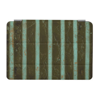 Contemporary Turquoise Air Grate iPad Mini Cover