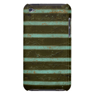 Contemporary Turquoise Air Grate iPod Touch Cases