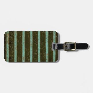 Contemporary Turquoise Air Grate Luggage Tag