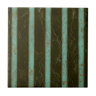 Contemporary Turquoise Air Grate Tile