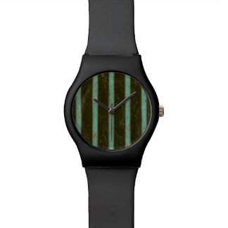 Contemporary Turquoise Air Grate Watch
