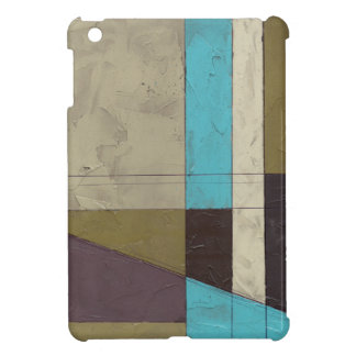Contemporay Minimalist Painting with Deep Color Cover For The iPad Mini