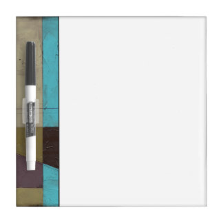 Contemporay Minimalist Painting with Deep Color Dry Erase Board
