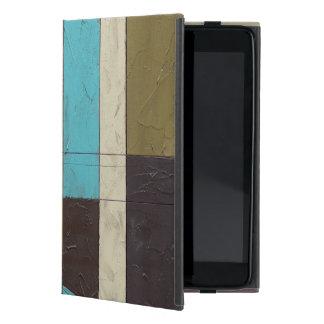 Contemporay Minimalist Painting with Deep Color iPad Mini Case