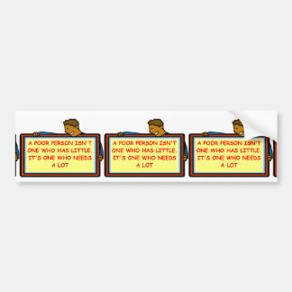 content bumper stickers