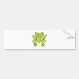 Content Frog Bumper Stickers