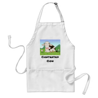 Contented cow standard apron