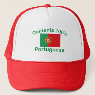 Contents 100% Portuguese Trucker Hat