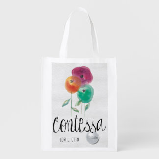 Contessa book cover Reusable Grocery Bag