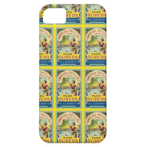 Contessa Olive Oil iPhone 5 Covers