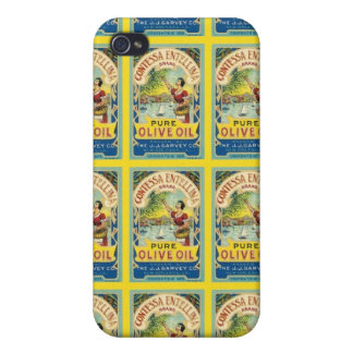 Contessa Olive Oil Case For iPhone 4