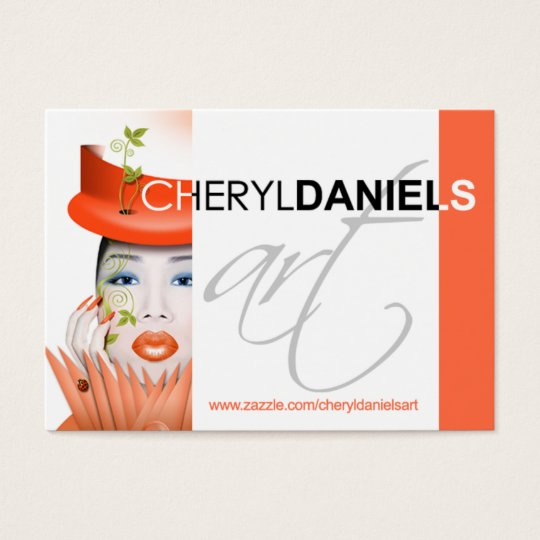 CONTEST: Cheryl Daniels Art Profile Business Card