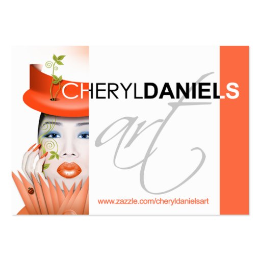 CONTEST: Cheryl Daniels Art Profile Pack Of Chubby Business Cards