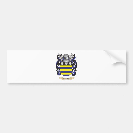 Contin Coat of Arms Bumper Sticker