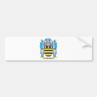 Contin Coat of Arms - Family Crest Bumper Stickers