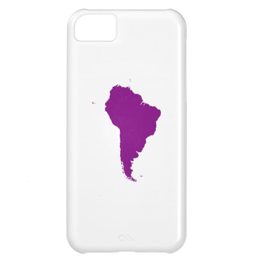 Continent of South America iPhone 5C Cover