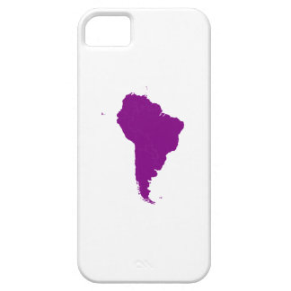 Continent of South America iPhone 5 Cover