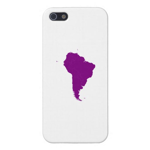 Continent of South America Covers For iPhone 5