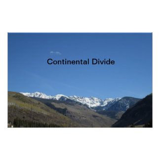 Continental Divide Poster