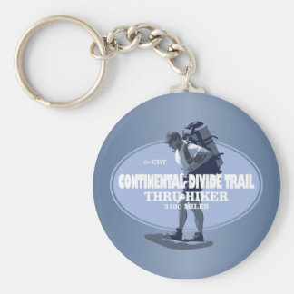 Continental Divide Trail (TH) Basic Round Button Key Ring