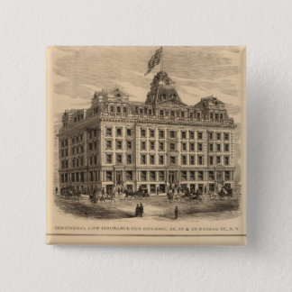 Continental Life Insurance Company 15 Cm Square Badge